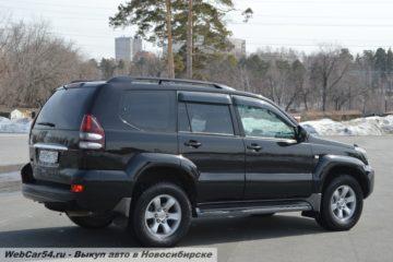 Как правильно купить Toyota Land Cruiser Prado 120